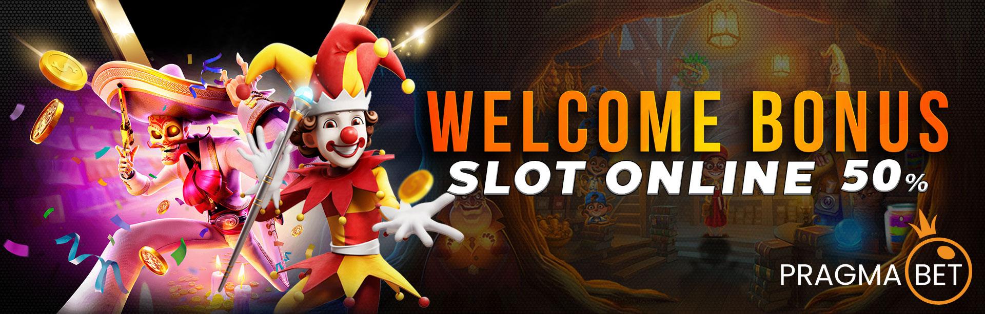 Bonus New Member Slot Online 50%