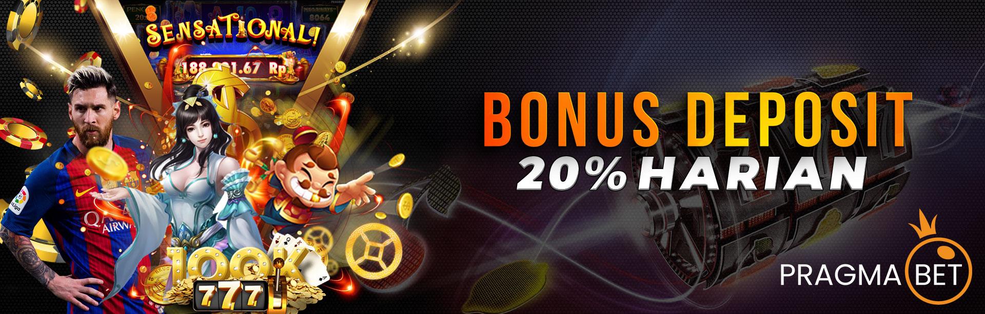Bonus Deposit Harian Pragmabet