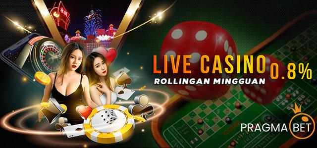 Bonus Rollingan live Casino